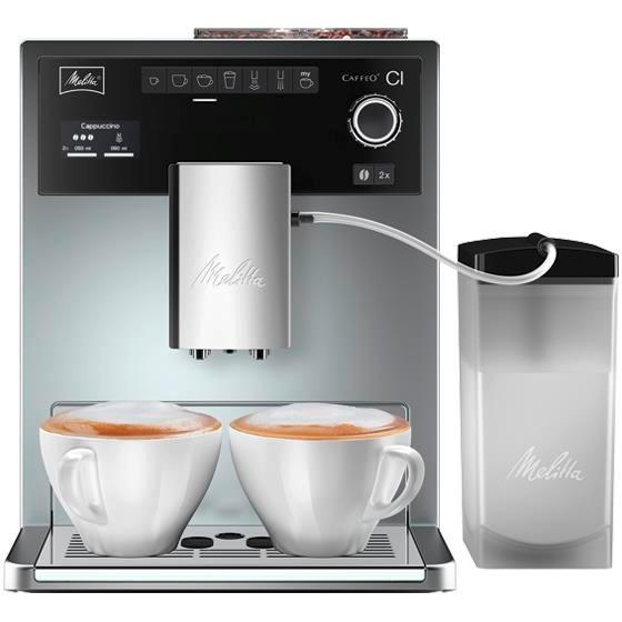 Автоматическая кофемашина Melitta Caffeo E 970-101 CI, серебристый  #1