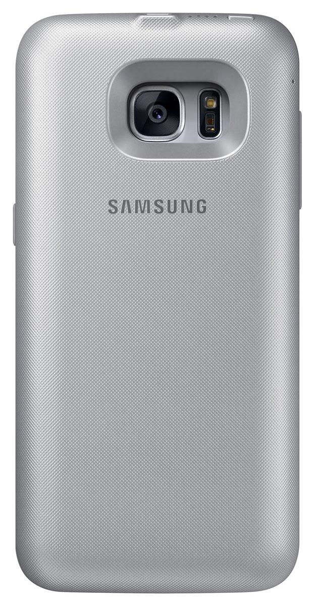 Samsung EP-TG935 Backpack чехол-аккумулятор для Galaxy S7 Edge, Silver #1