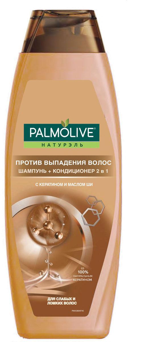 """Palmolive Шампунь 2 в 1 """"Против выпадения волос"""", 380 мл #1"""