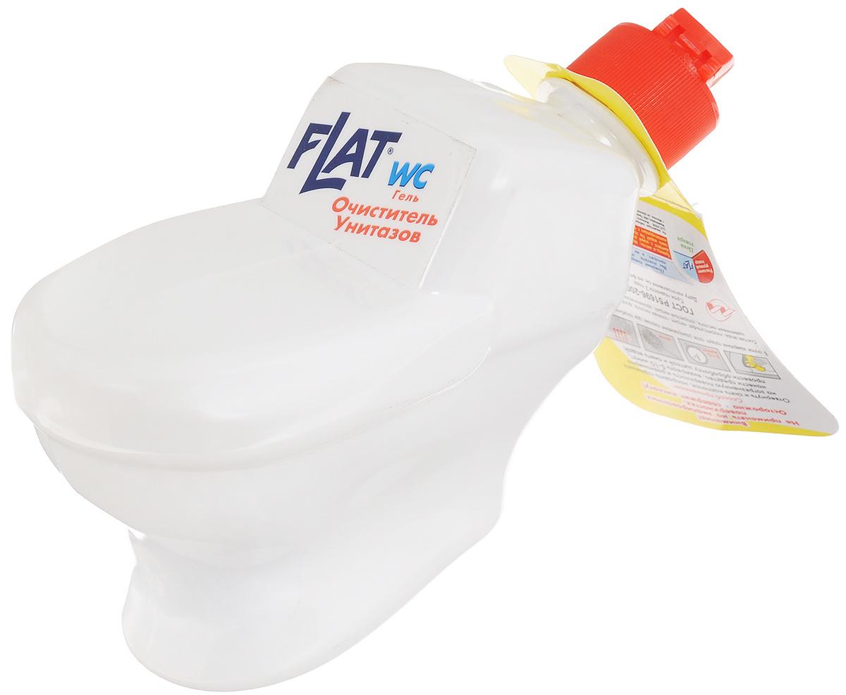 """Очиститель унитазов """"Flat"""", с ароматом лимона, 480 г #1"""