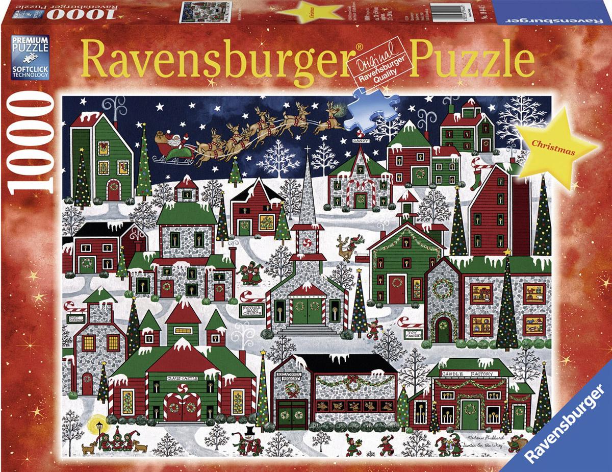 Ravensburger Пазл Рождественский город #1