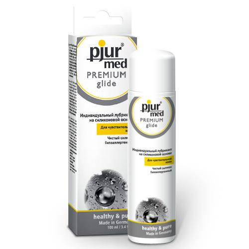 Pjur, Гипоаллергенный силиконовый лубрикант pjurMED Premium glide 100 мл  #1