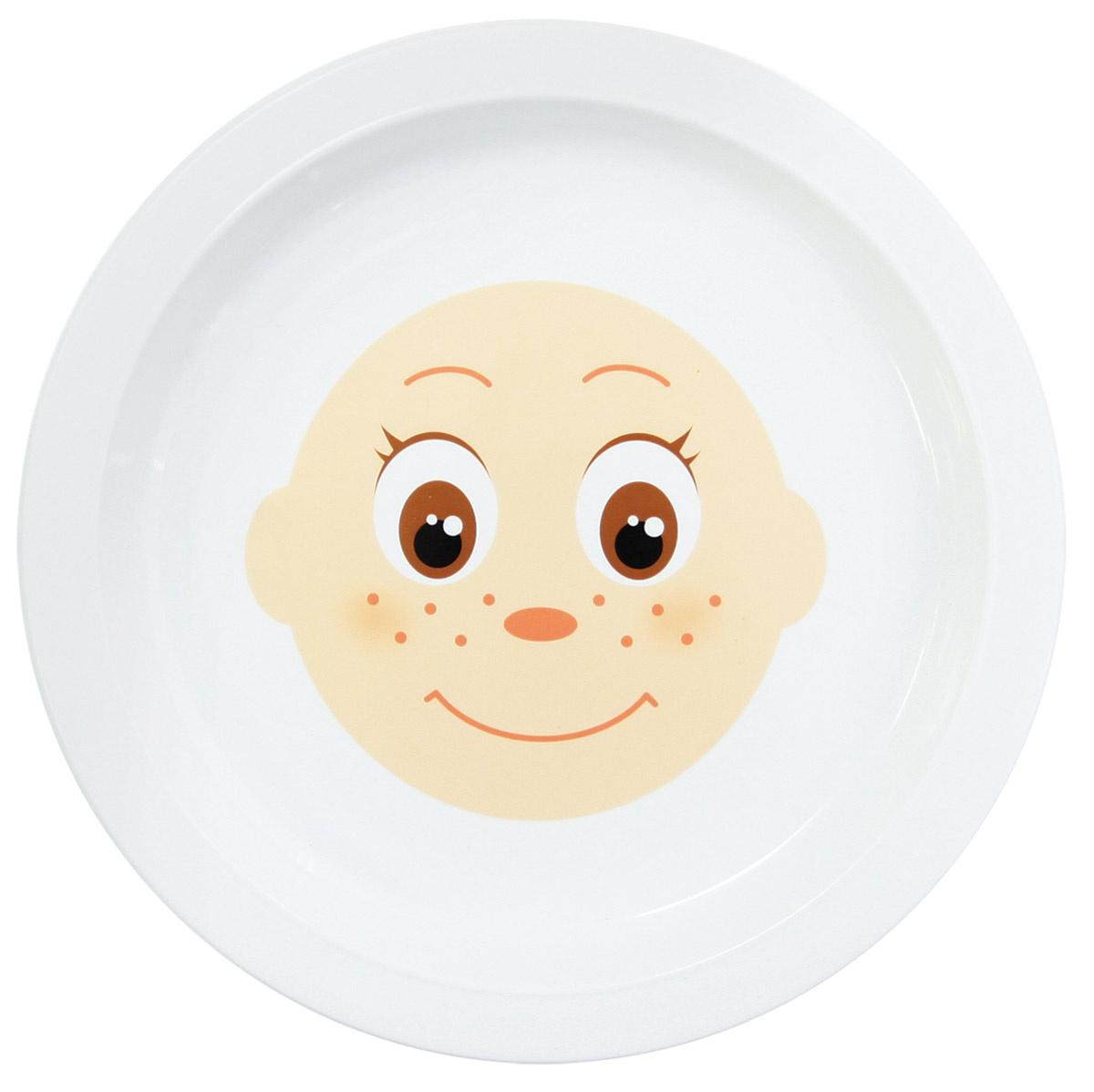 Тарелка Lubby, Полипропилен, диаметр 21 см #1