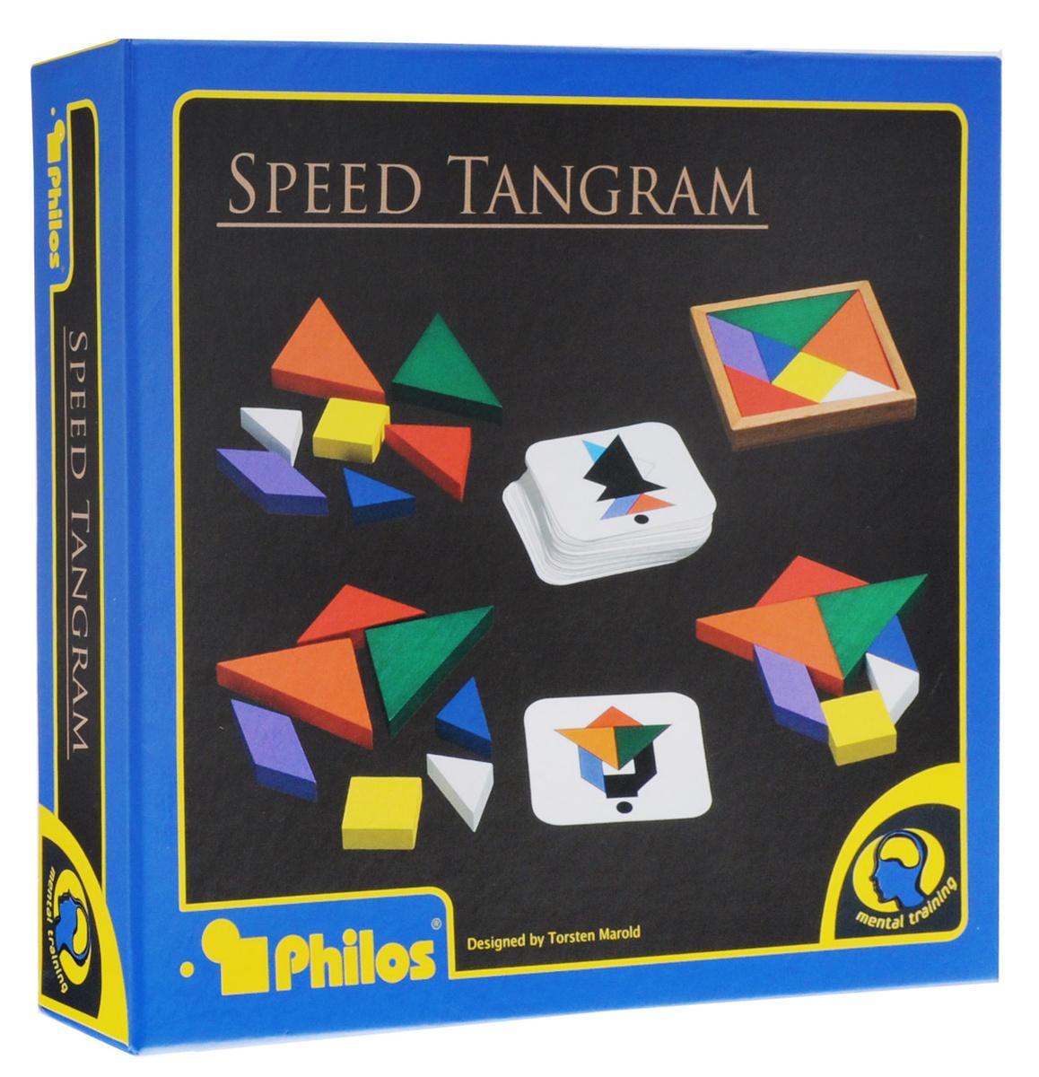 Philos Настольная игра Скоростной танграм #1
