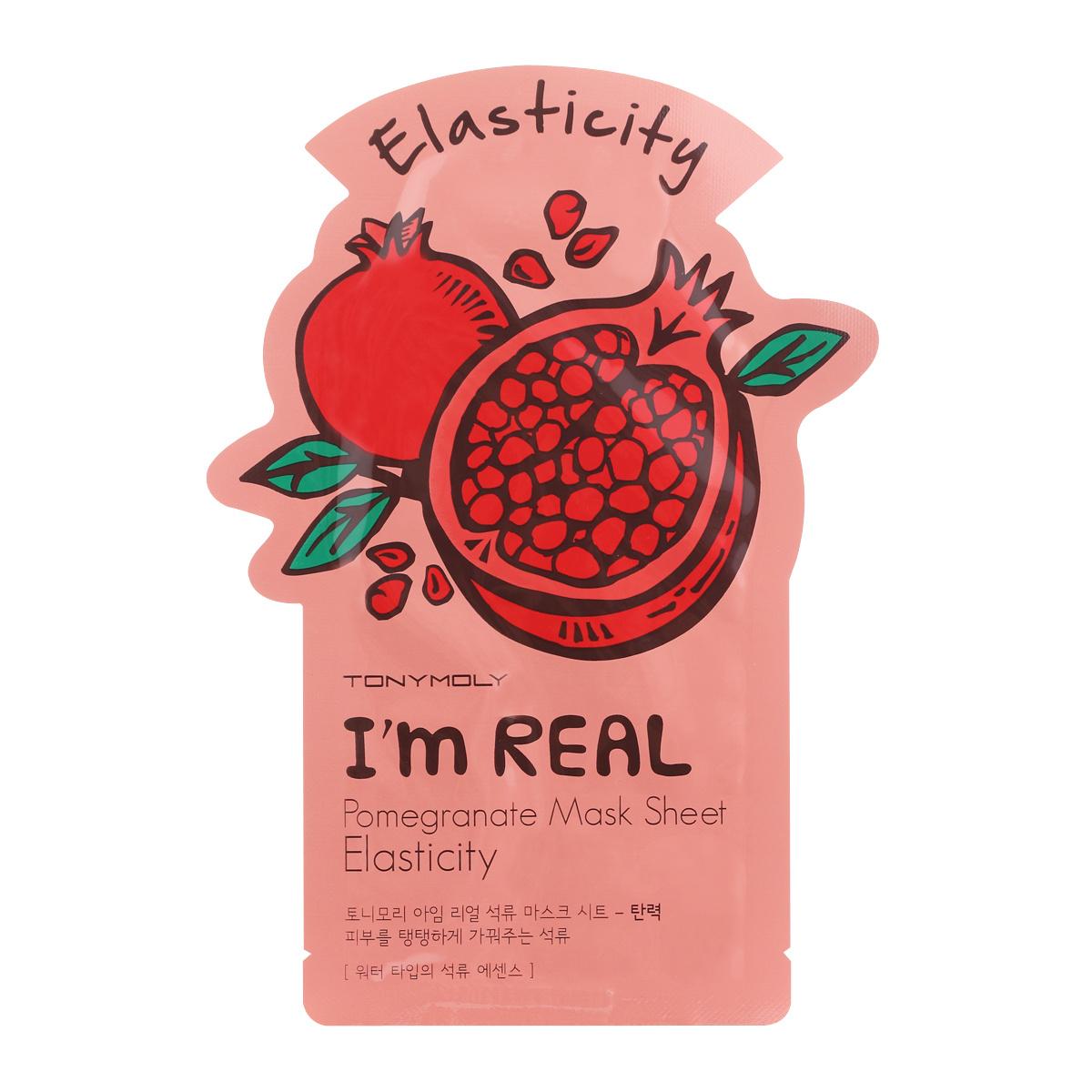 TonyMoly Тканевая маска с экстрактом граната I'm Real Pomegranate Mask Sheet, 21 мл  #1