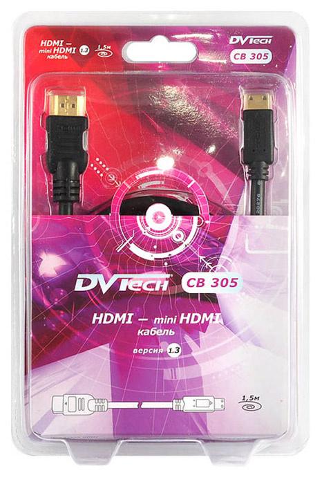 30e923854c28 DVTech CB305 кабель HDMI-miniHDMI 1.5 м — купить в интернет-магазине OZON с  быстрой доставкой