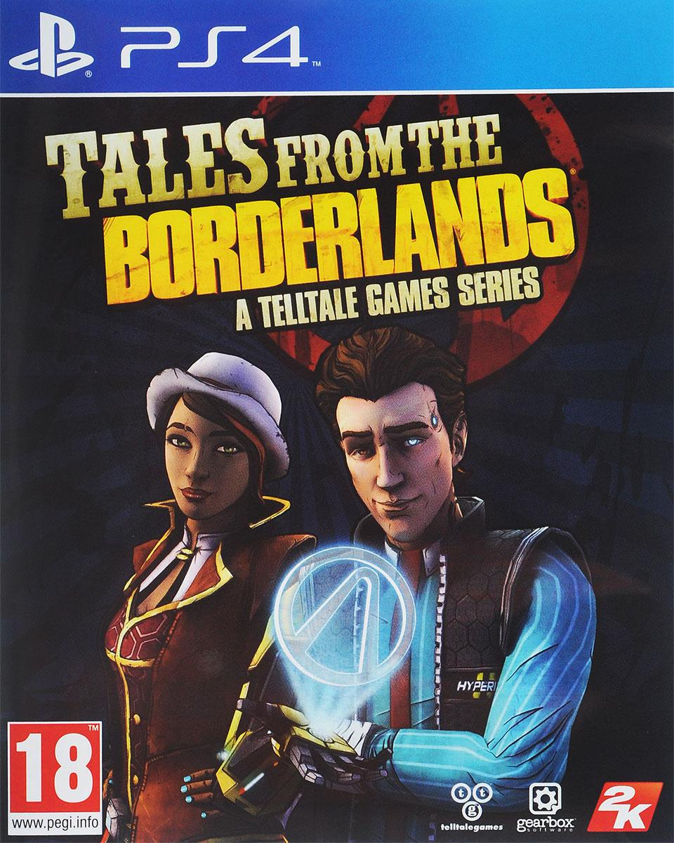 Игра Tales From The Borderlands (PlayStation 4, Английская версия) #1