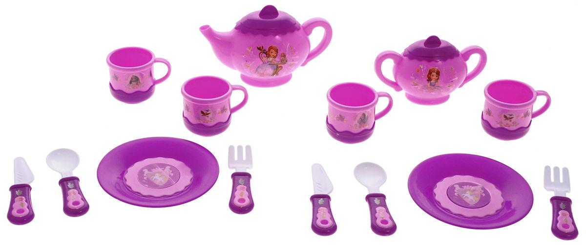 Играем вместе Набор посуды София Прекрасная 14 предметов  #1
