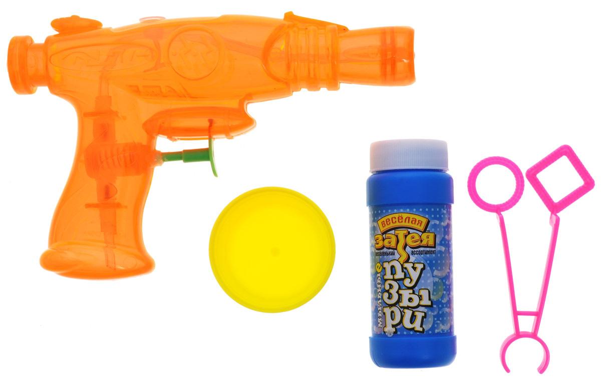 Веселая затея Набор для пускания мыльных пузырей цвет в ассортименте  #1