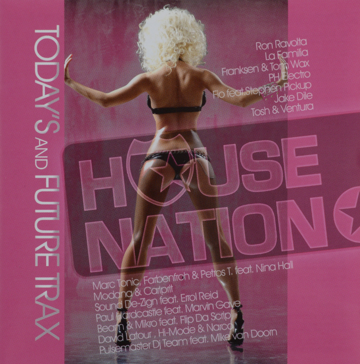 House Nation. Today's And Future Trax (2 CD) #1