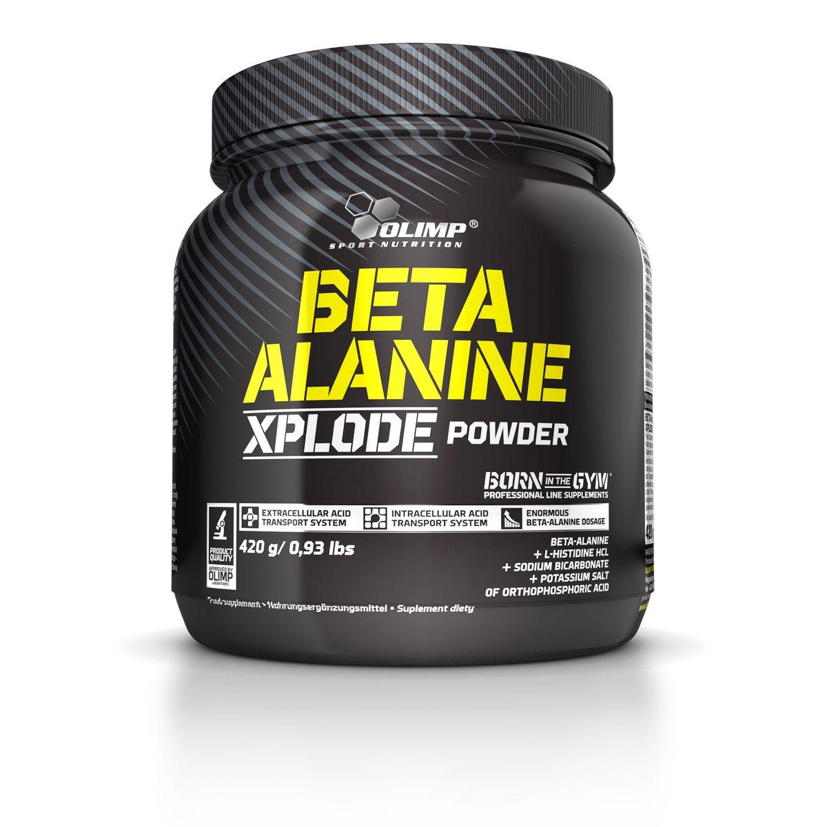 """Аминокислоты Olimp Sport Nutrition """"Beta Alanine Xplode"""", апельсин, 420 г #1"""