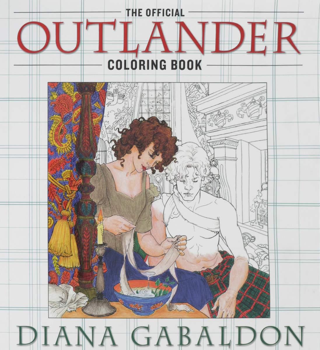 The Official Outlander: Coloring Book #1