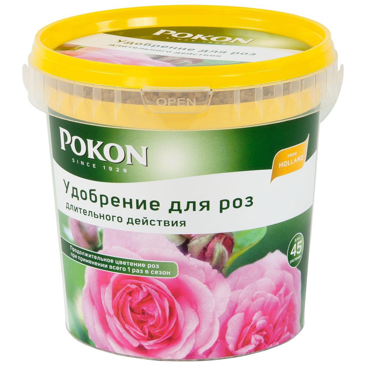 """Удобрение для роз """"Pokon"""", длительного действия, 900 г #1"""