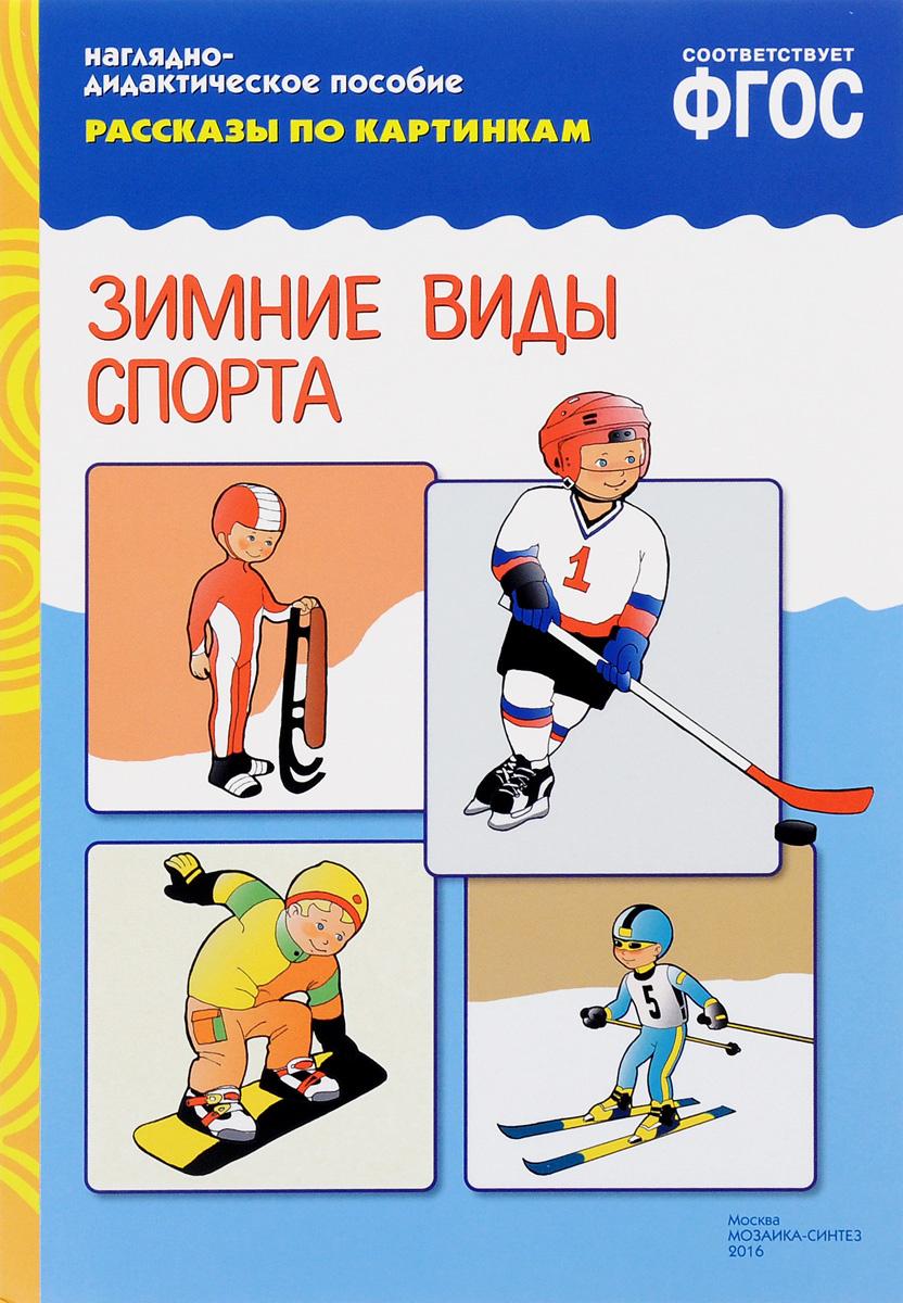 Зимние виды спорта. Наглядно-дидактическое пособие #1