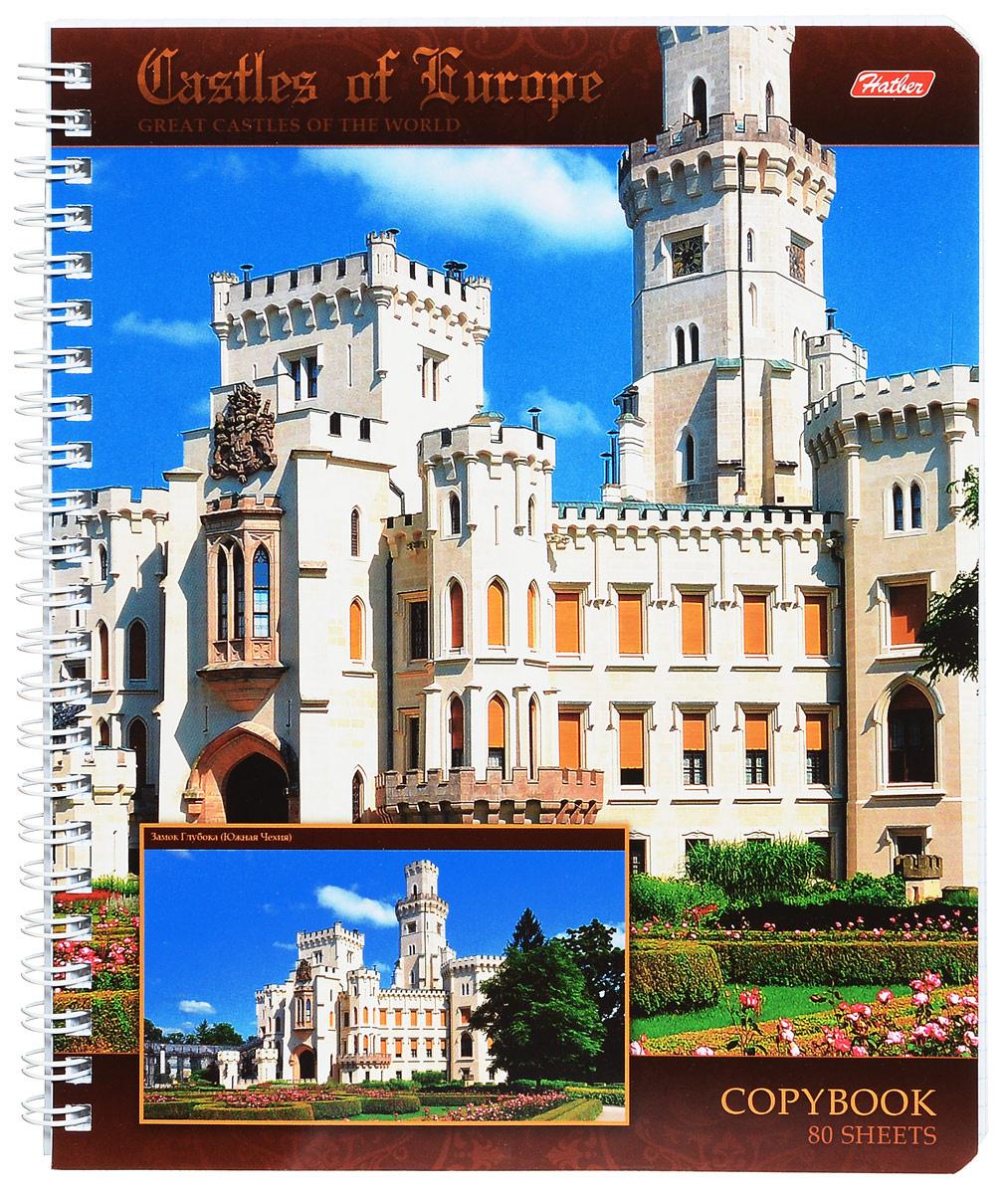 Hatber Тетрадь Замок Глубока 80 листов в клетку #1