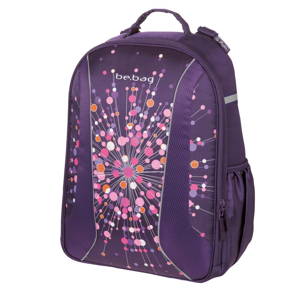 e8340490b991 Herlitz Ранец школьный для девочки BE.BAG Airgo Universe цвет  темно-фиолетовый — купить в интернет-магазине OZON.ru с быстрой доставкой