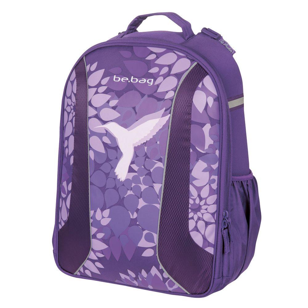 93f0e659759f Herlitz Ранец школьный для девочки BE.BAG Airgo Free Bird цвет фиолетовый —  купить в интернет-магазине OZON.ru с быстрой доставкой