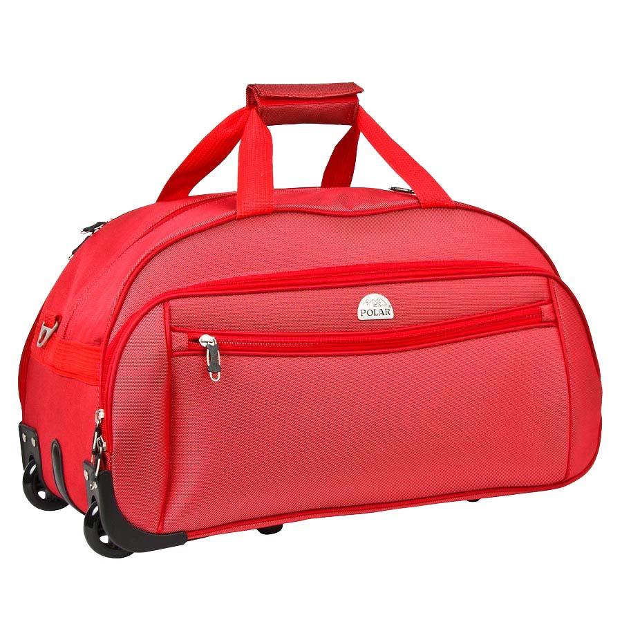 f761858450cf Сумка дорожная на колесах Polar, 59 л, цвет: красный. 7019.5 — купить в  интернет-магазине OZON.ru с быстрой доставкой