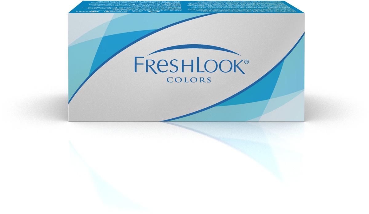 Цветные контактные линзы Alcon FreshLook Ежемесячные, -1.50 / 14,5 / 8.6, Аlcon FreshLook Colors Green, #1
