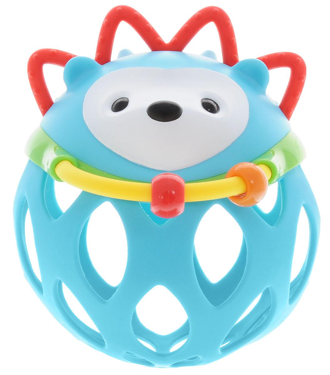 Skip Hop Развивающая игрушка-погремушка Шар-ежик #1