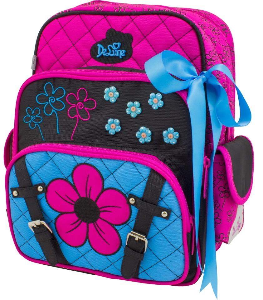 254e923c9a5f DeLune Рюкзак детский с наполнением цвет розовый голубой 2 предмета —  купить в интернет-магазине OZON.ru с быстрой доставкой