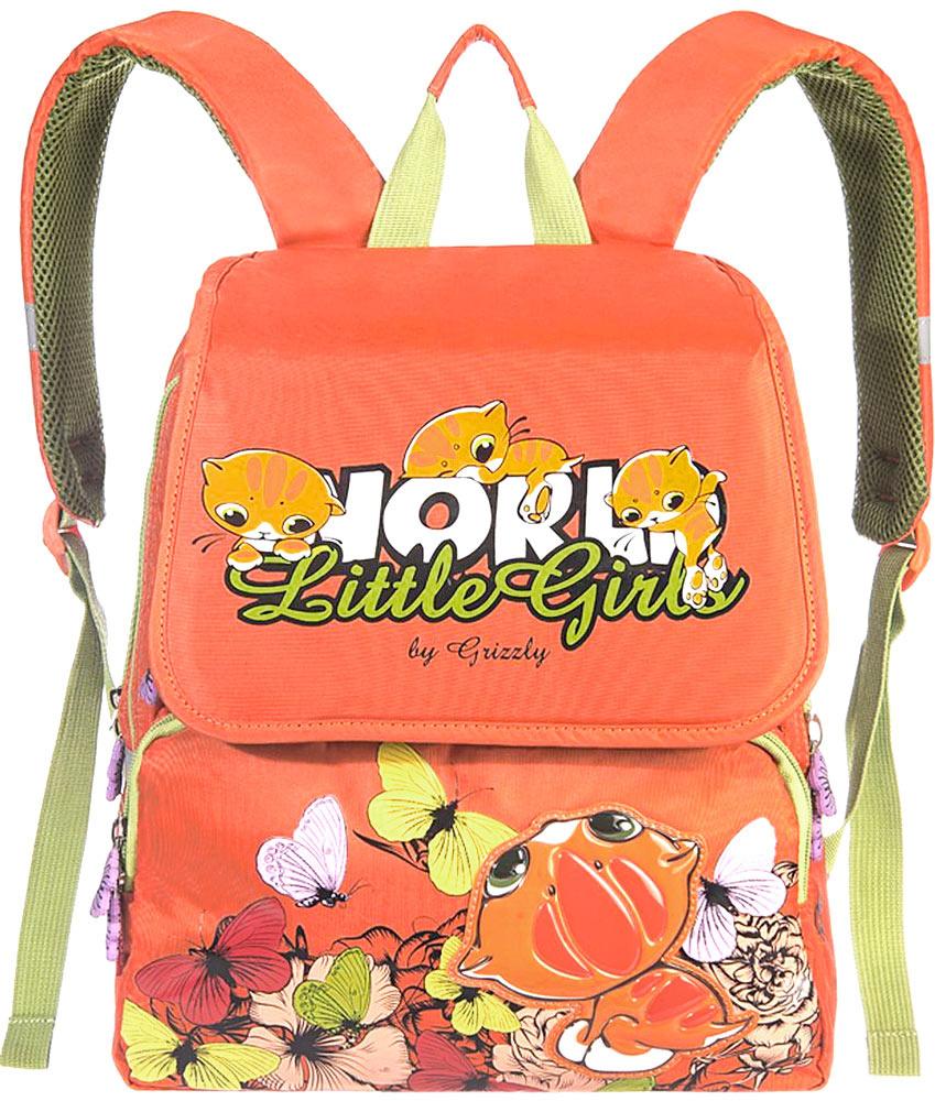 Grizzly Рюкзак детский цвет оранжевый #1