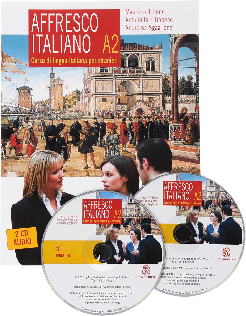 Affresco italiano A2 (+ 2 CD) | Trifone Maurizio, Filippone Antonella #1