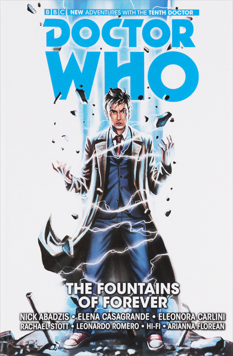 Doctor Who: The Tenth Doctor: Volume 3: The Fountains of Forever | Abadzis Nick #1
