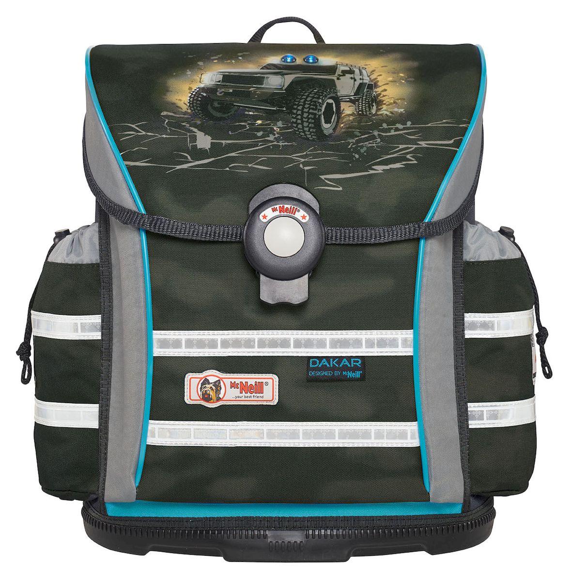 19a2acd7c843 McNeill Ранец школьный Ergo Light 912 Дакар — купить в интернет-магазине  OZON.ru с быстрой доставкой