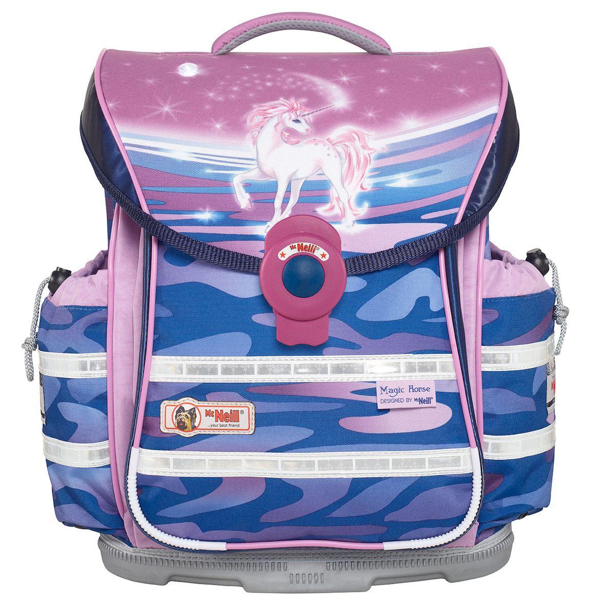 41a7f68fa604 McNeill Ранец школьный Ergo Light Plus Единорог — купить в интернет-магазине  OZON.ru с быстрой доставкой