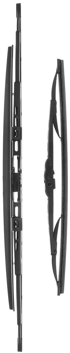 Щетки стеклоочистителя каркасная BOSCH Twin SP 601S, 600/400 мм, 3397010297  #1