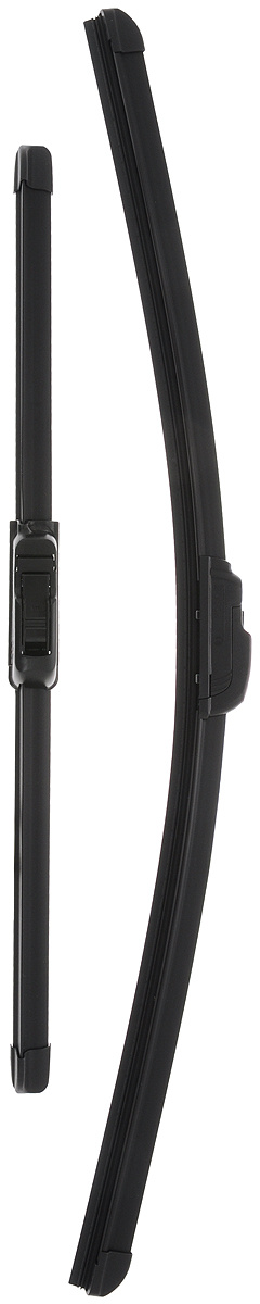 """Щетка стеклоочистителя Bosch """"AR552S"""", бескаркасная, со спойлером, длина 40/55 см, 2 шт  #1"""