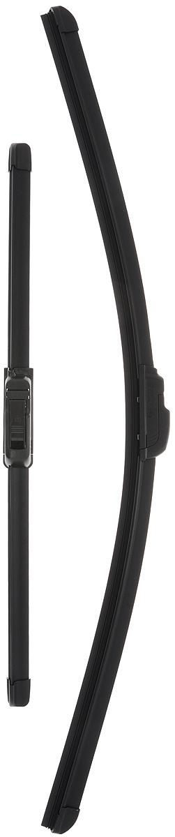 """Щетка стеклоочистителя Bosch """"AR601S"""", бескаркасная, со спойлером, длина 40/60 см, 2 шт  #1"""