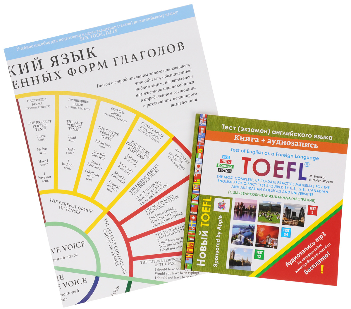 Toefl: Test of English as a Foreign Language / Новый тест английского языка (+ плакат)  #1