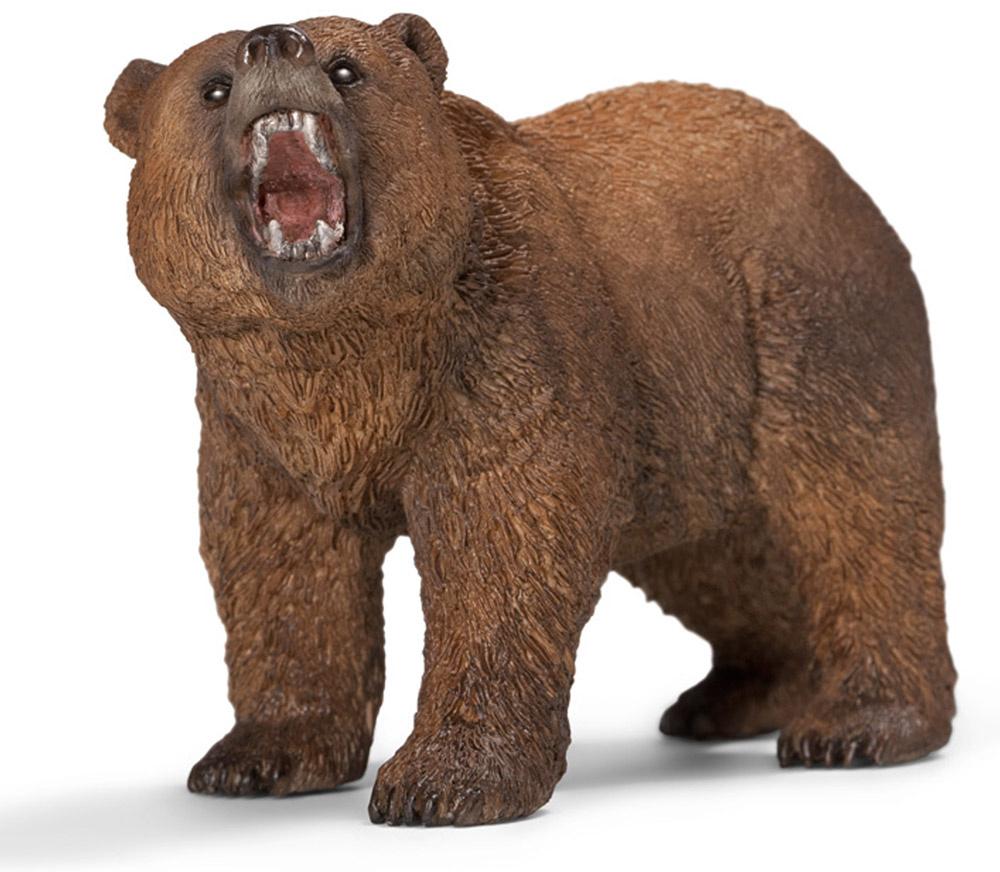 Schleich Фигурка Медведь гризли #1