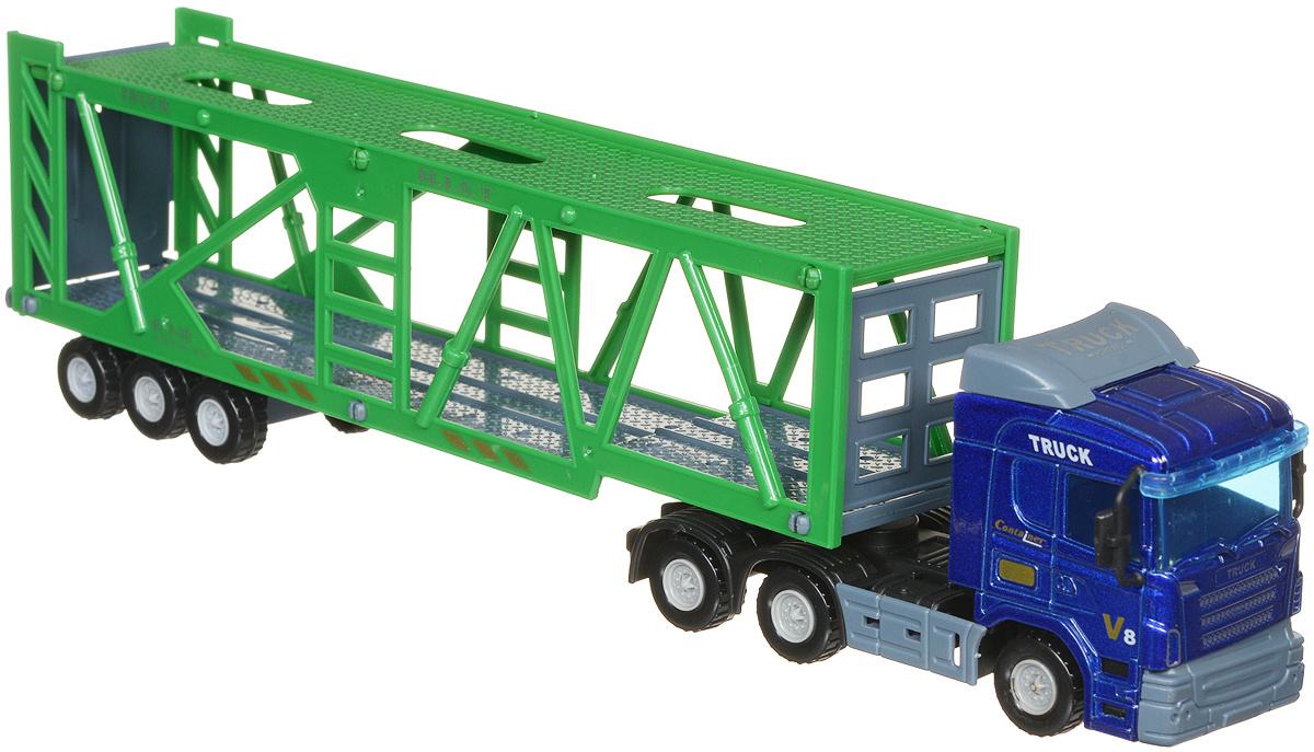 Junfa Toys Автовоз цвет синий зеленый #1