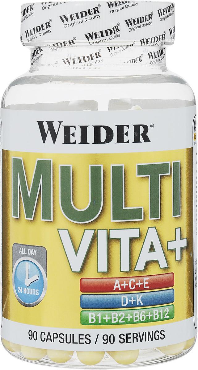 """Витаминно-минеральный комплекс Weider """"Multi Vita+"""", 90 капсул #1"""