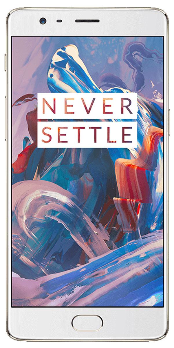 Смартфон OnePlus 364GB, золотистый #1