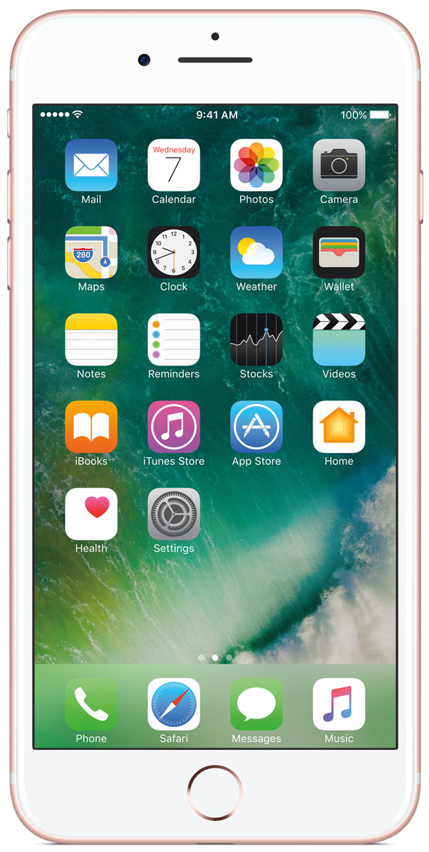 Смартфон Apple iphone-7-plus 32GB, розовое золото #1