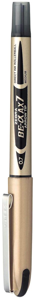 Zebra Ручка-роллер BE-& AX7 цвет чернил черный #1