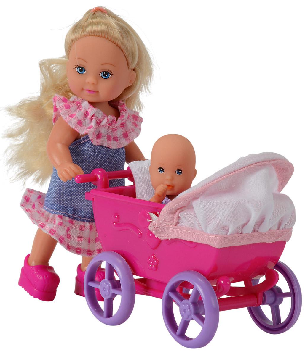 Simba Кукла Еви в платье с малышом #1