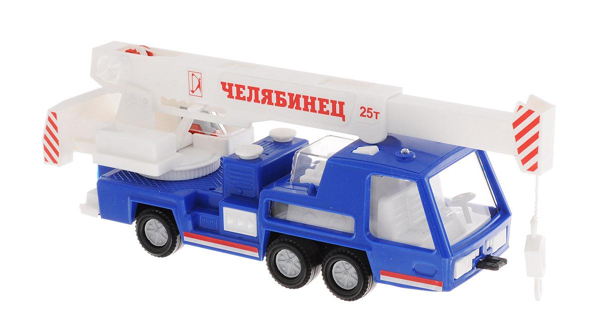 Форма Автокран Челябинец цвет синий #1