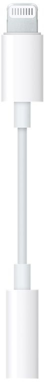 Адаптер Apple Lightning - 3.5 mm Jack (MMX62ZM/A), белый #1