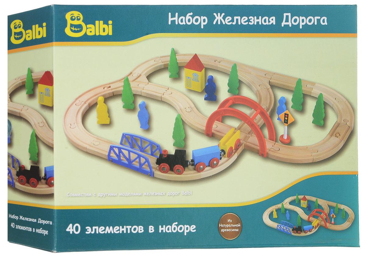 Balbi Железная дорога 40 элементов #1