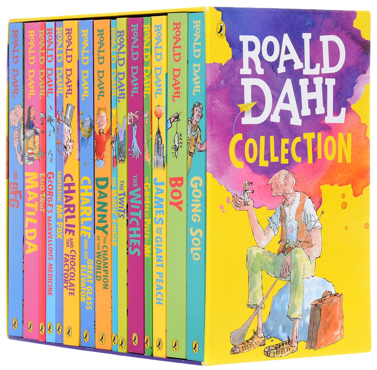 Roald Dahl Collection - 15 Paperback Book Boxed #1