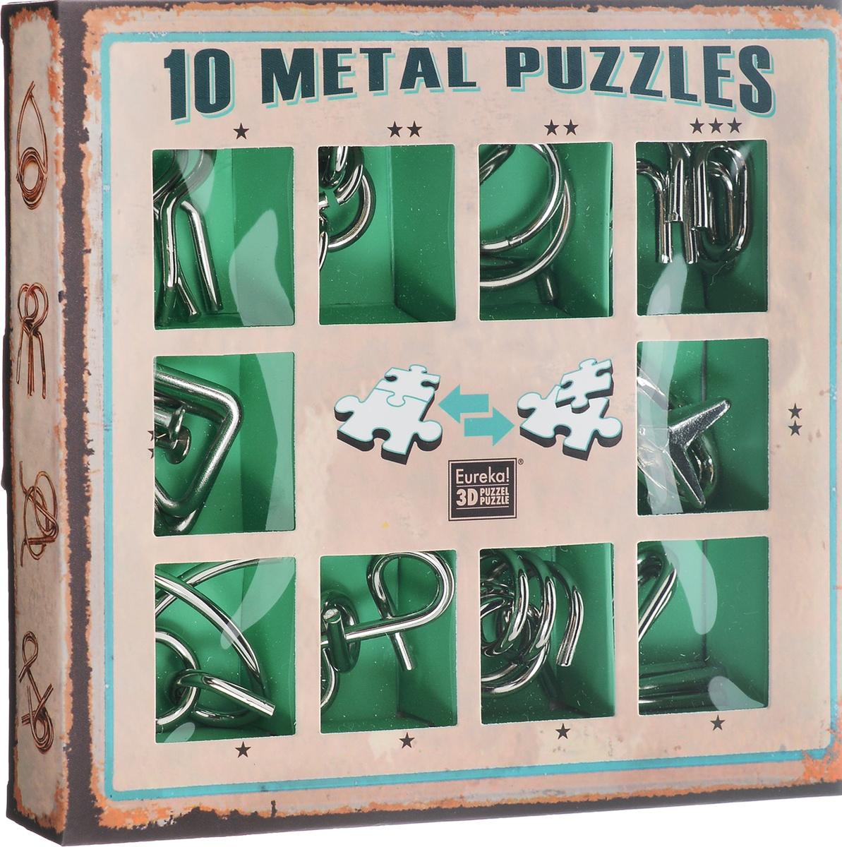 Eureka! Набор головоломок цвет зеленый 10 шт #1