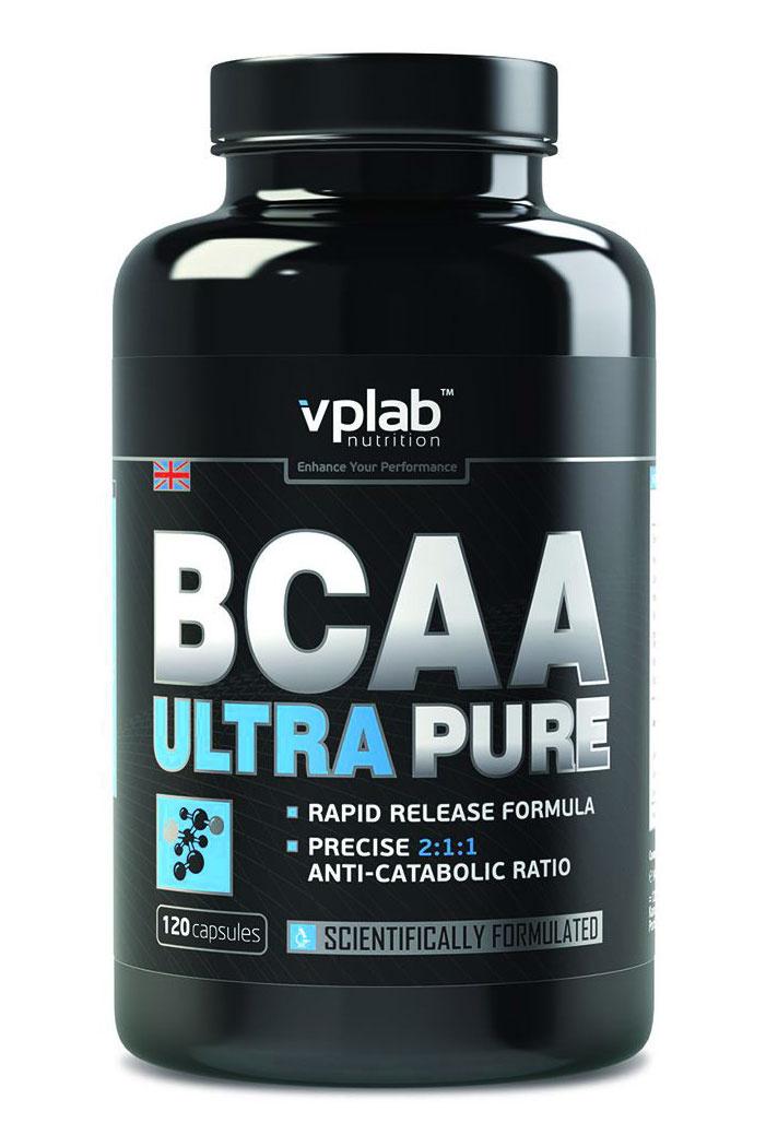"""Аминокислоты VPLab """"BCAA Ultra Pure"""", 120 капсул #1"""