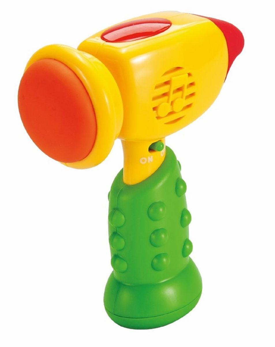 Mommy Love Развивающая игрушка Молоточек цвет желтый зеленый  #1