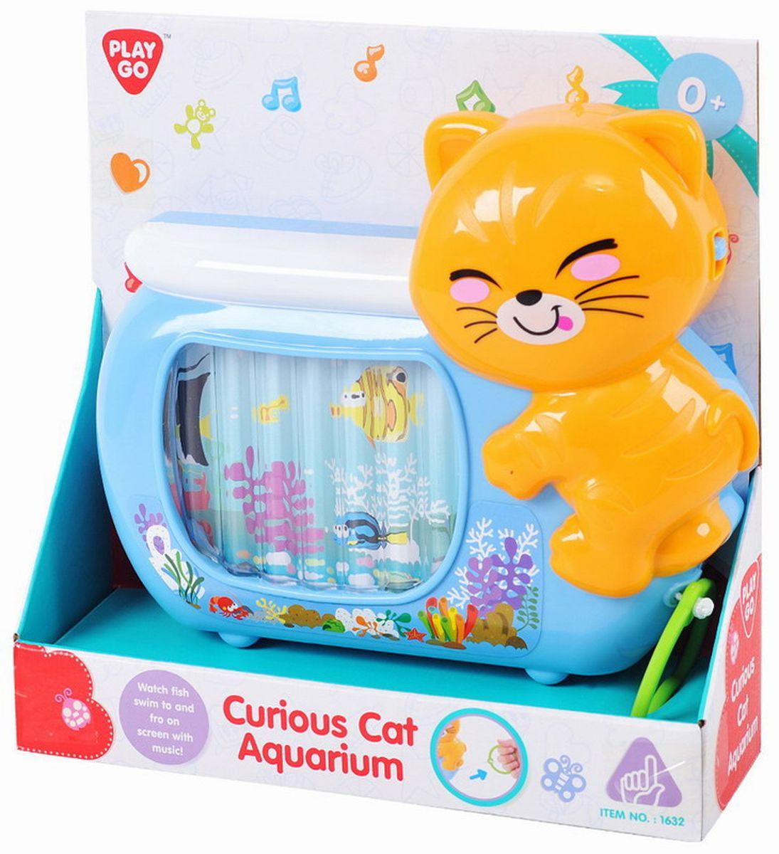 Playgo Развивающая игрушка Аквариум с кошкой #1