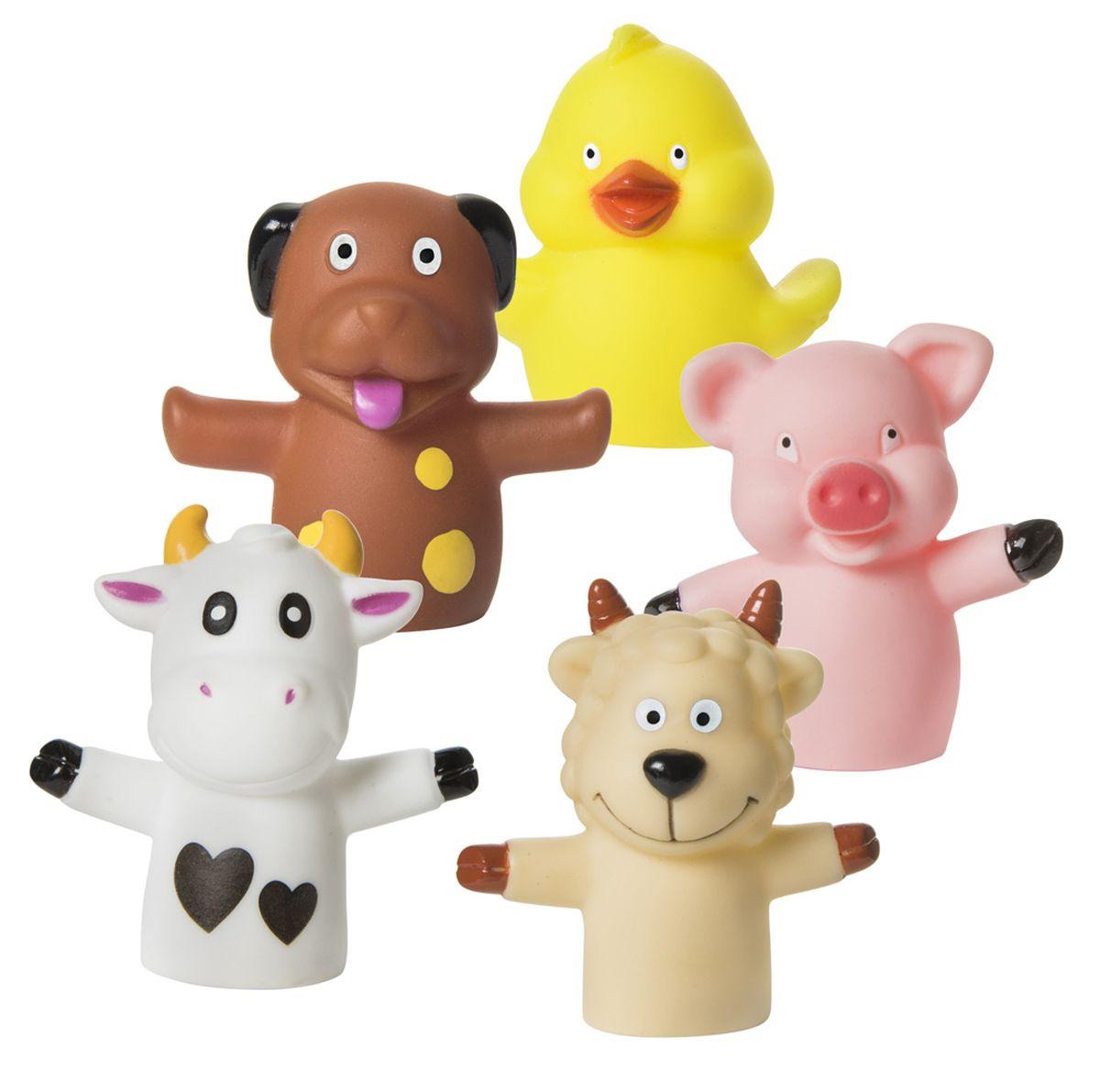 Курносики Набор игрушек для ванной Веселая ферма 5 шт #1